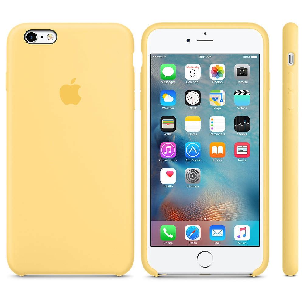 Apple iPhone 6   6S Silikónové Puzdro – Žlté. Nie je na sklade 623c57b2c31