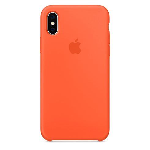 Apple iPhone XS Silikónové Puzdro – Oranžové - Milujeme Apple.sk a2890f51404